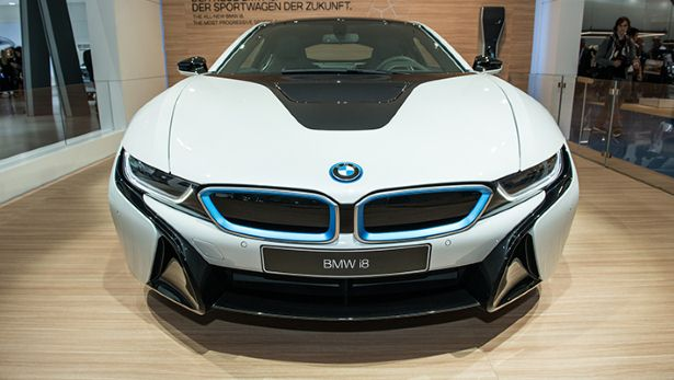 Production Bmw I8 Finally Unveiled