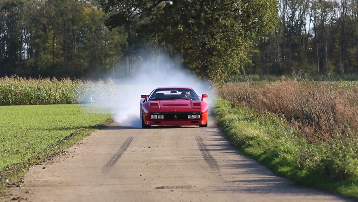 Ferrari 288 GTO goes off_road