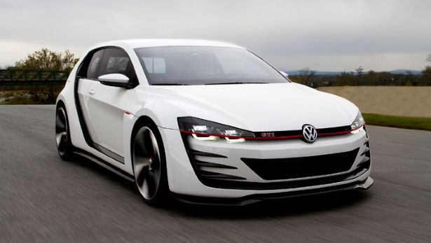 First drive 500bhp Golf GTI concept