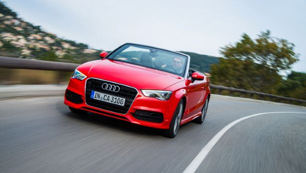 First drive Audi A3 cabriolet