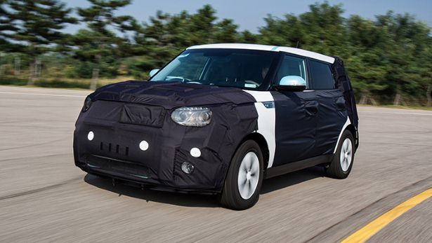First drive the electric Kia Soul