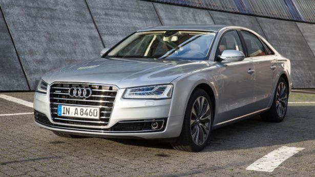 First drive the new Audi A8