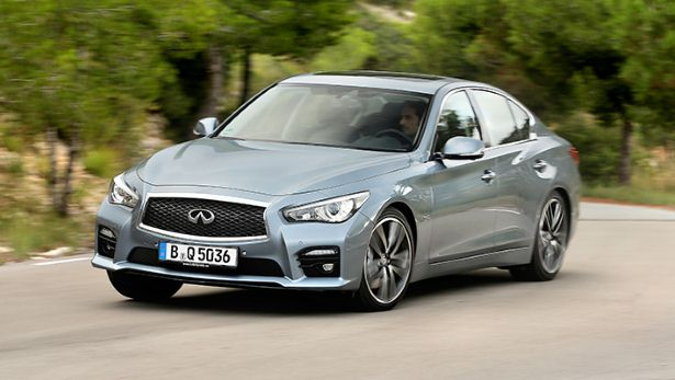 First drive the new Infiniti Q50