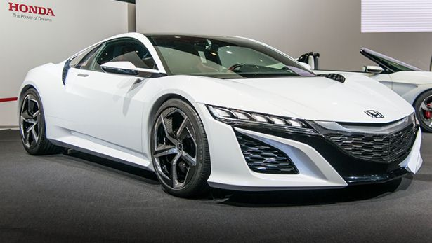 Honda NSX a 458 at half the price