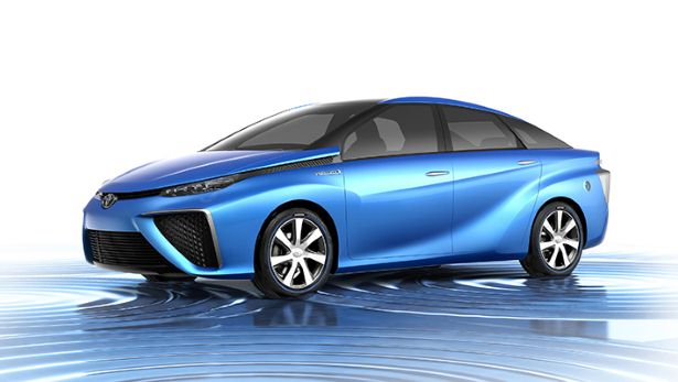Is the Toyota Prius going hydrogen