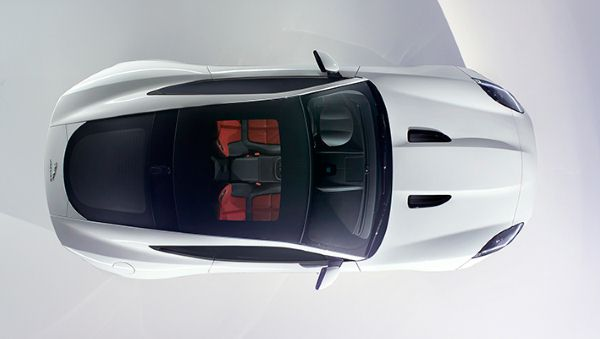 Jaguar F-Type Coupe first look