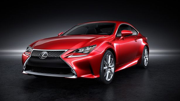The Lexus RC Coupe has landed