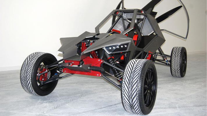 This is the Skyrunner off-road flying car