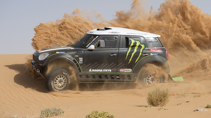 This is X_Raid's 2014 Dakar Mini