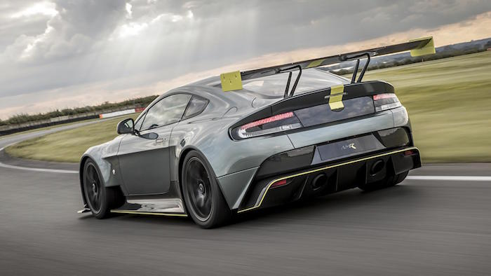Aston Martin Vantage Review AMR Pro Track Special Driven - Car pro show reviews