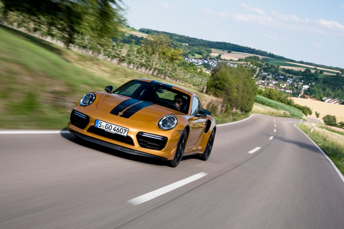 Gold Star Porsche 911 Turbo S Exclusive Series Driven Review