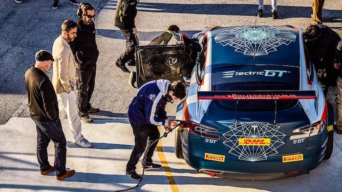 What's a Tesla race car like to drive?