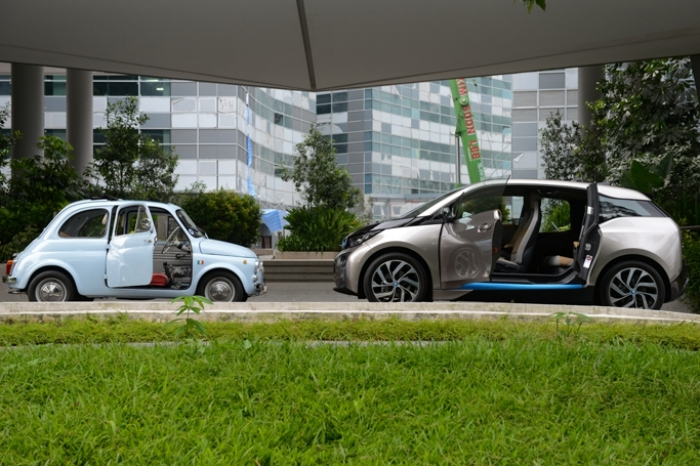 A Tale Of 2 City Cars Fiat 500 Bmw I3 60ah Driven Review