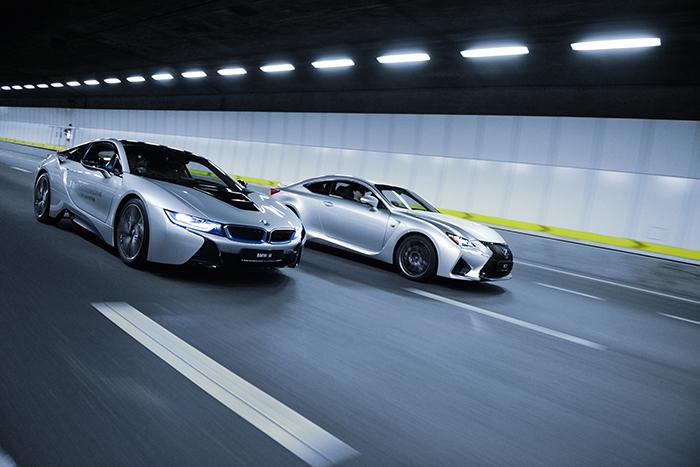 I V League Bmw I8 Lexus Rc F Driven Review