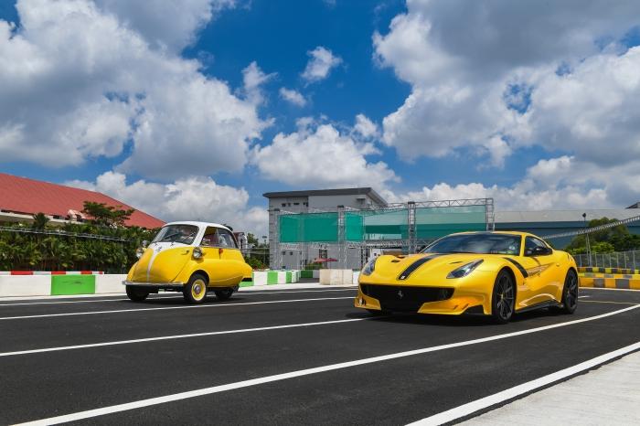 TopGear | Goodfellas : Ferrari F12tdf & BMW Isetta 300