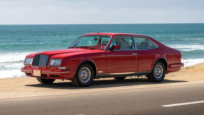 1991 bentley turbo rl empress ii coupe by hooper 0