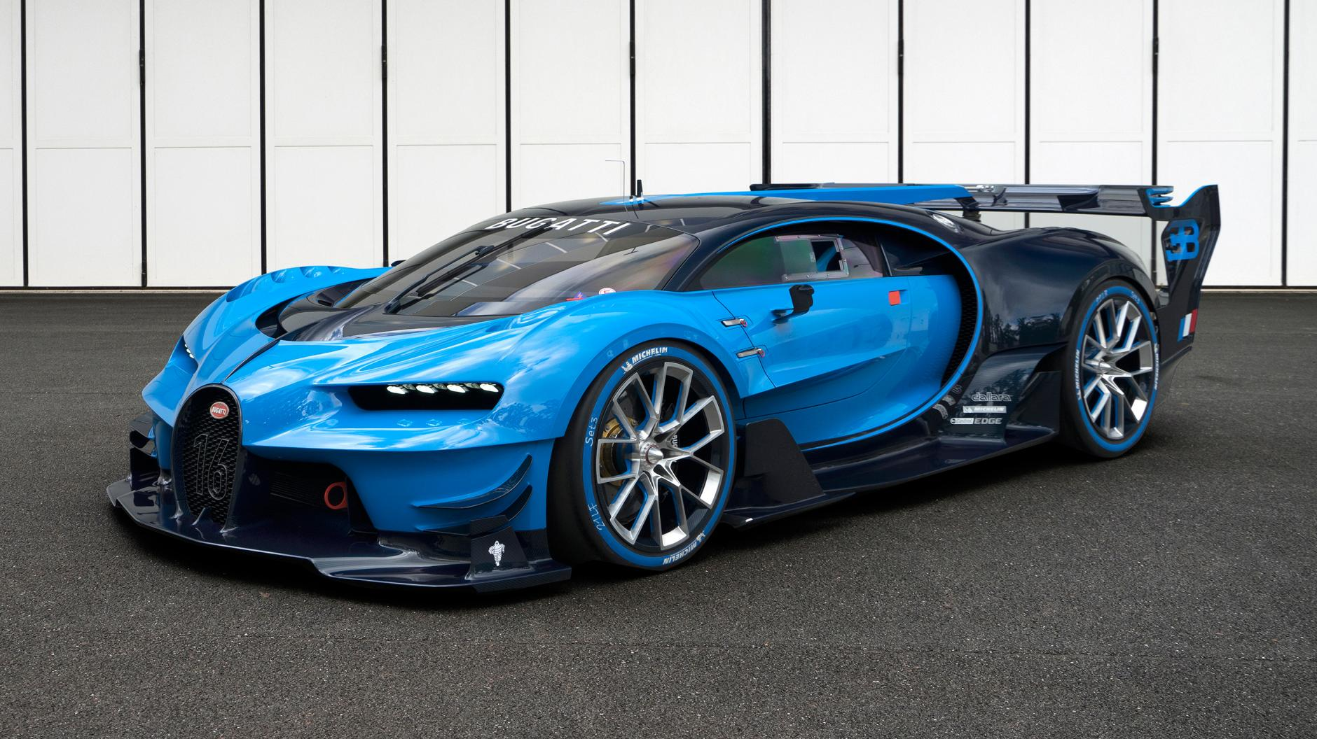 An exclusive audience with the Bugatti Vision GT