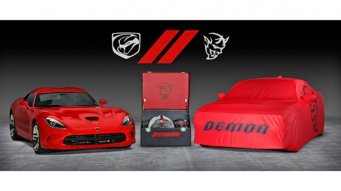 dodge viper and demon