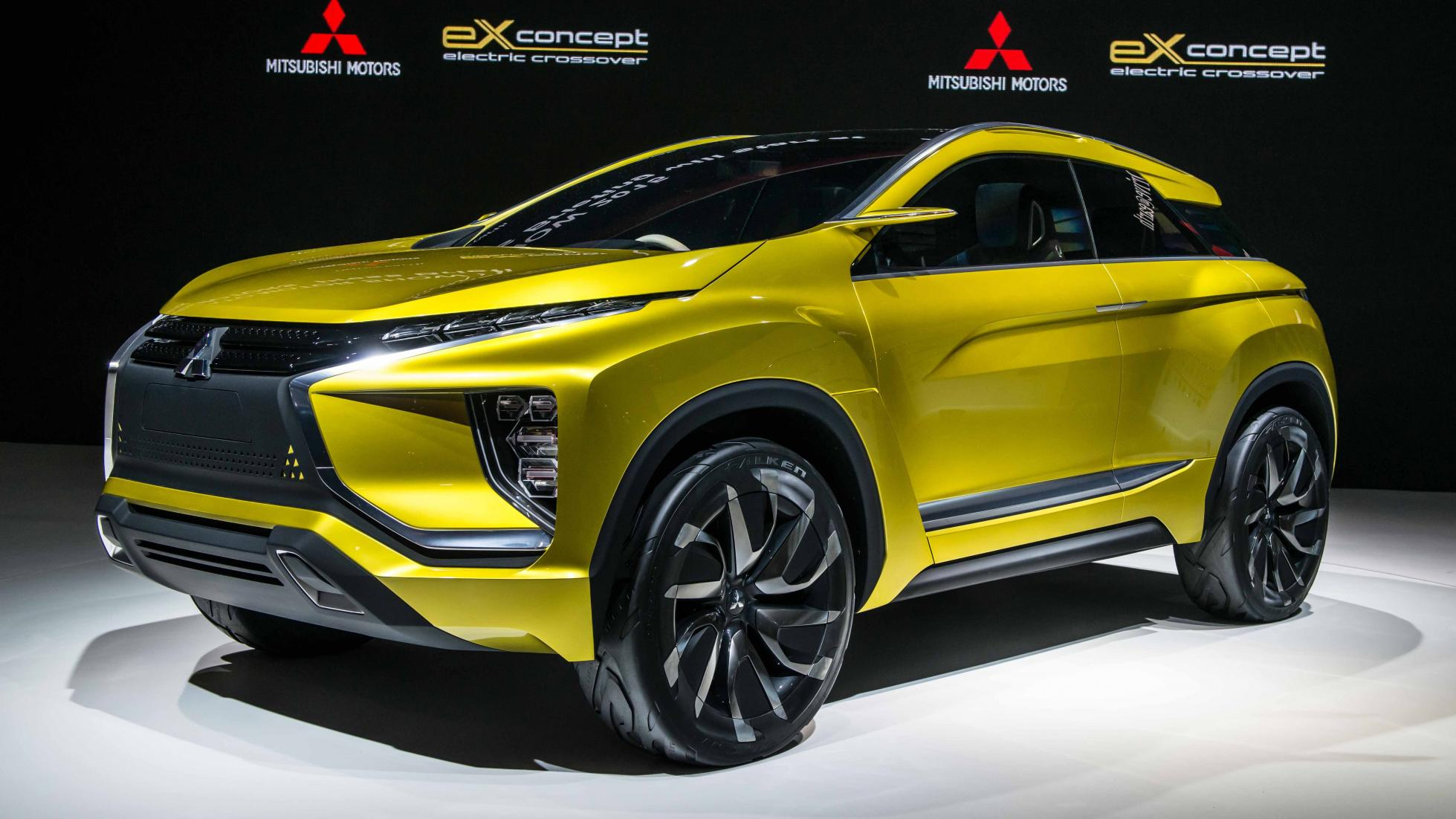 mitsubishi's ex concept is the new asx