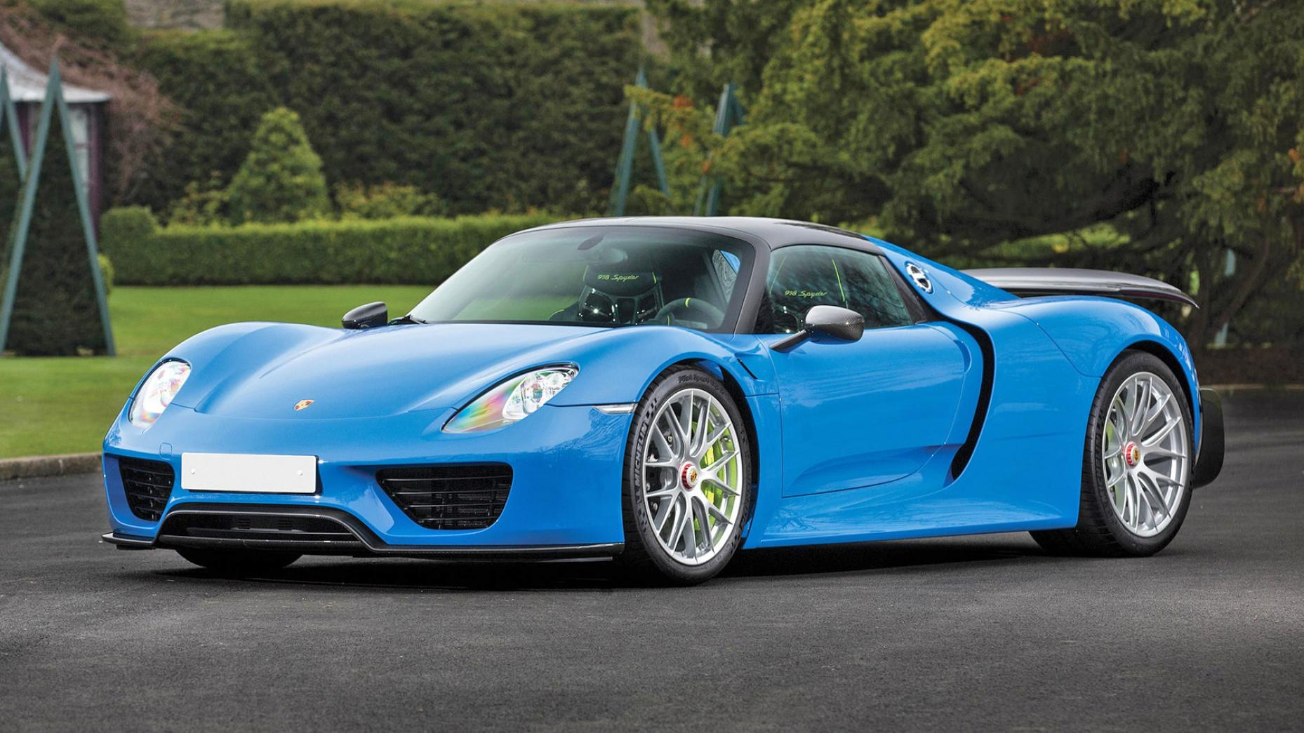 por1 Marvelous Porsche 918 Spyder Mark Webber Cars Trend