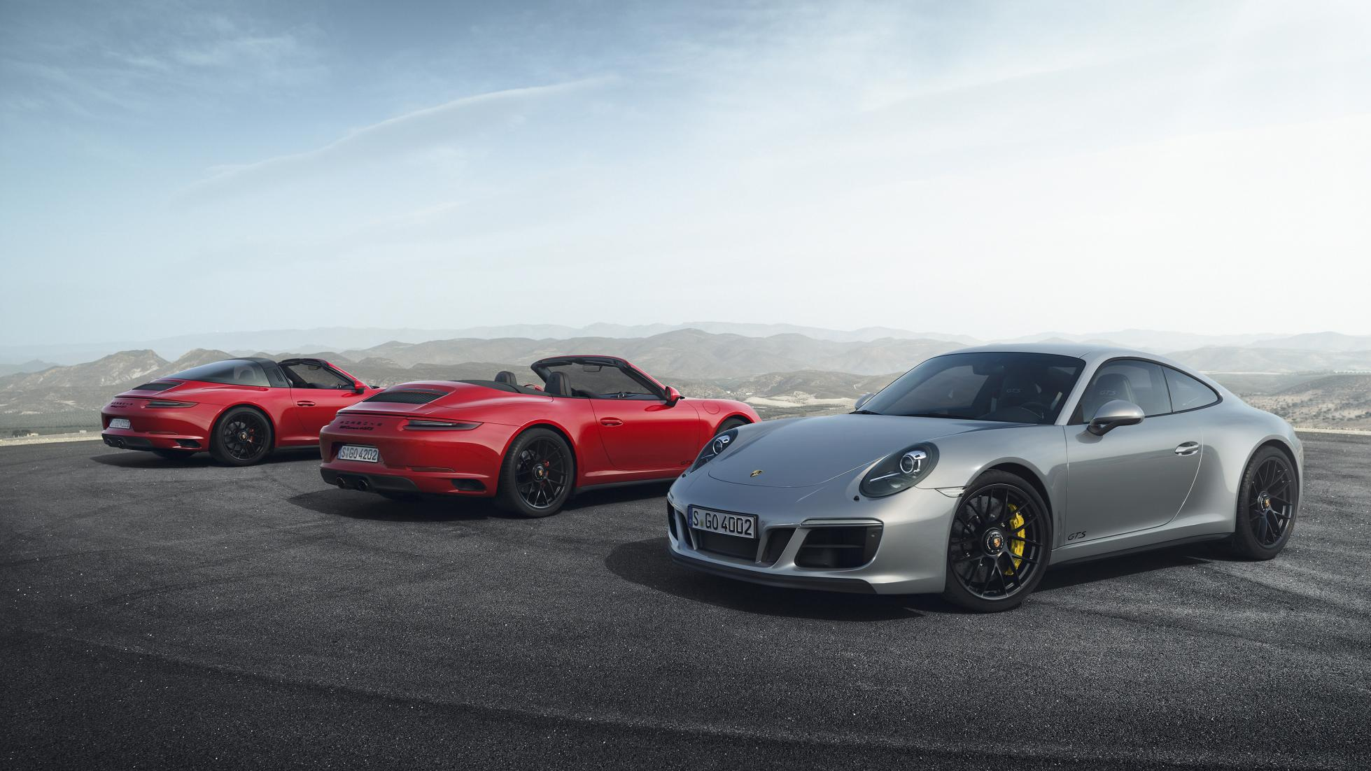 Meet the new Porsche 911 GTS