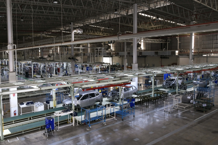 batch 1. TCILs first assembly plant occupies more than 100000m2 in Thailand