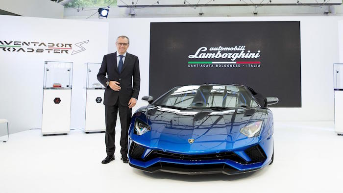 One Of Five Lamborghini Aventador S Roadster Revealed