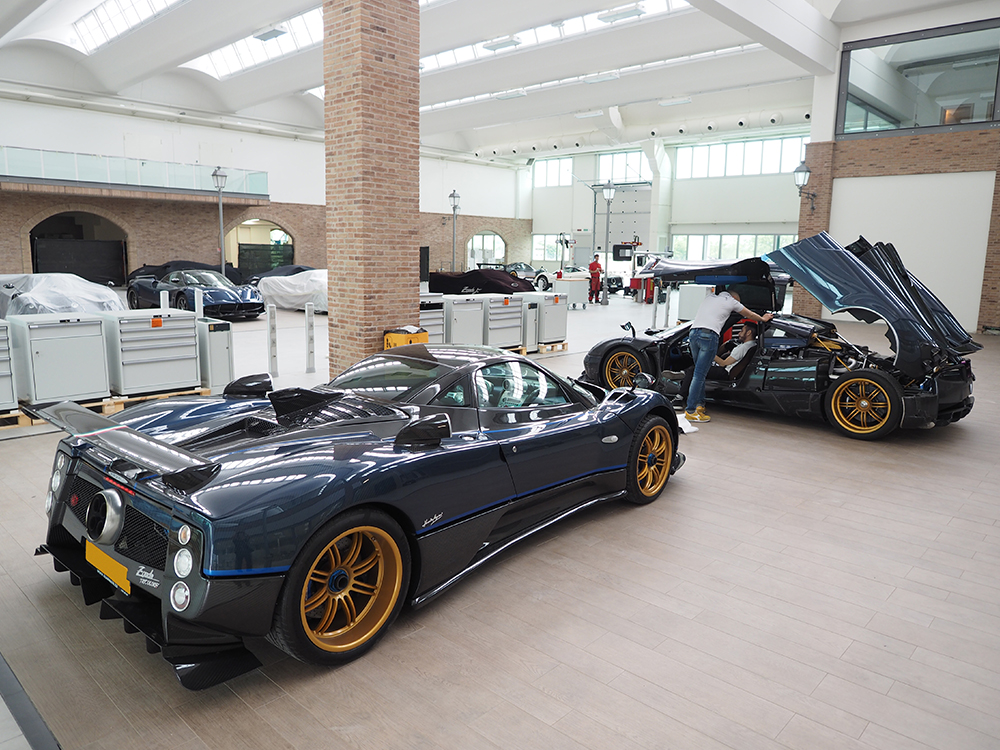 art in motion : a visit to pagani