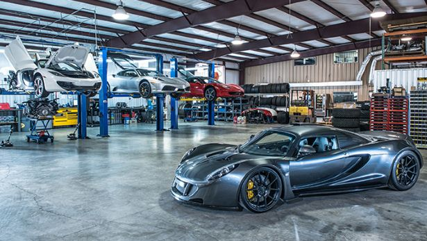 hennessey workshop