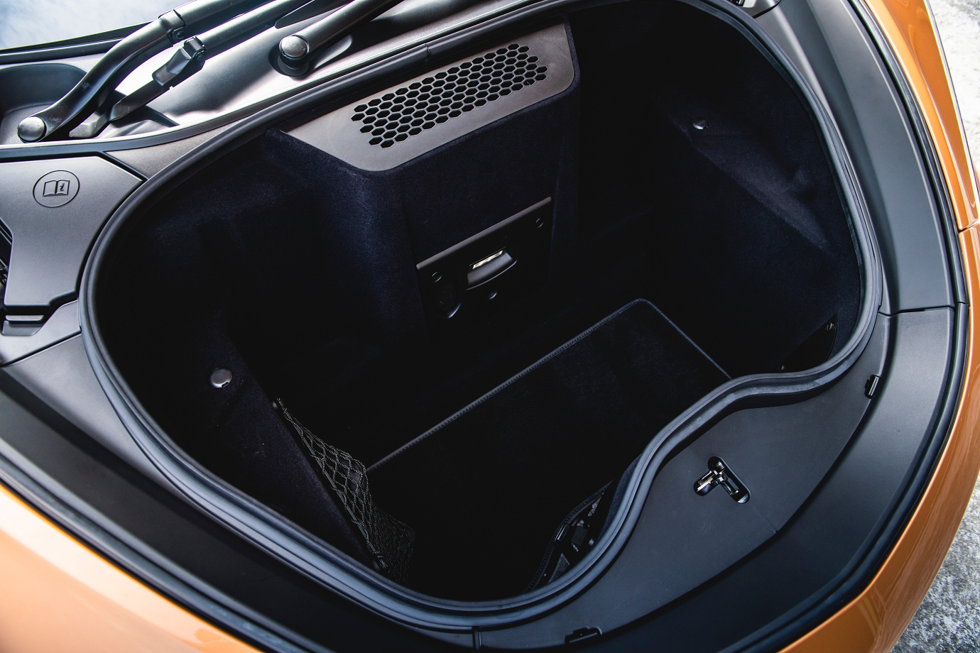 Frunk offers 150-litres of storage