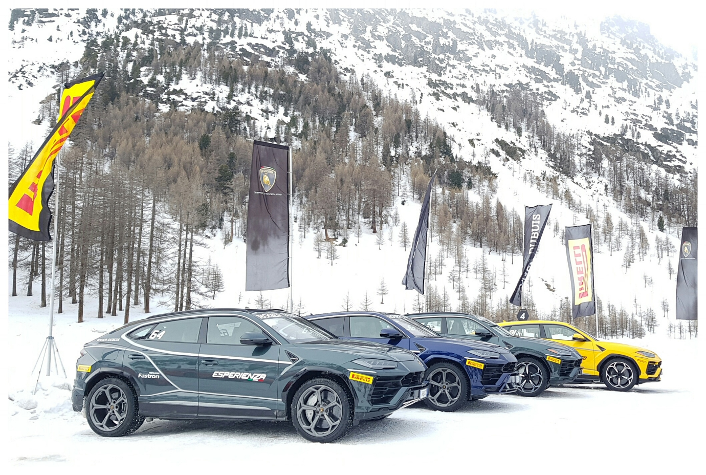 yes, in addition to the Huracan Evos, we had the Urus to play with