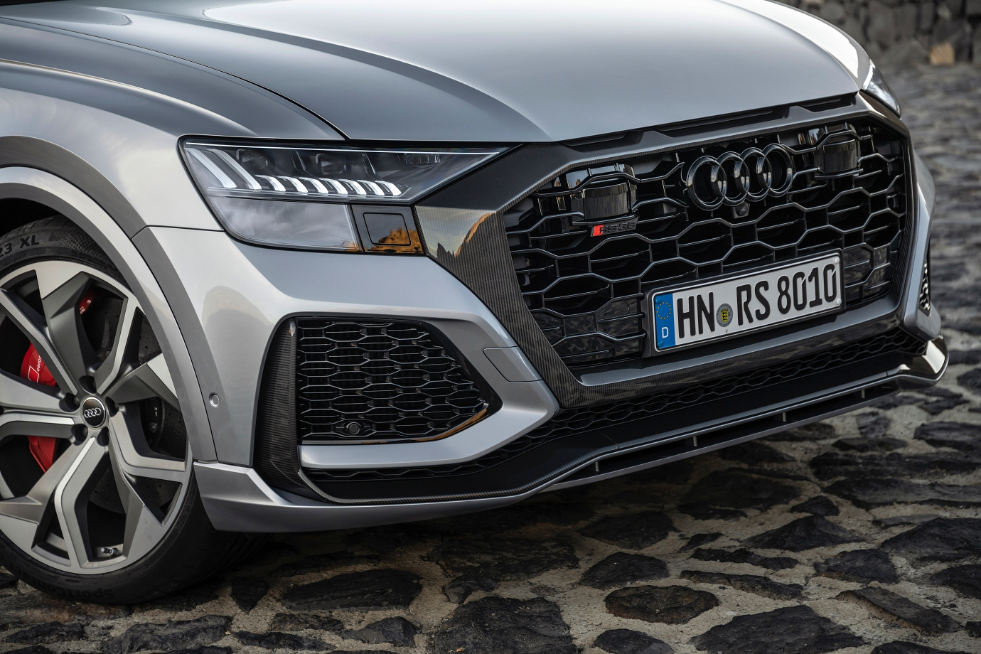 RS-specific octagonal singleframe grille