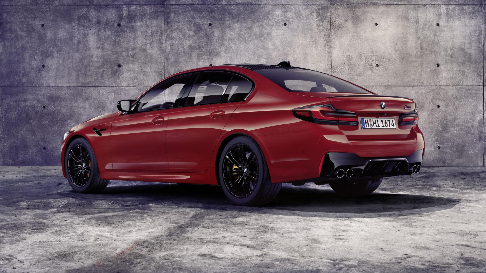 2021 F90 Lci Bmw M5 Competition Gets Fancy New Dampers Topgear Singapore