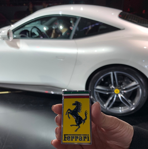 The Roma key... just like the SF90 Stradale's