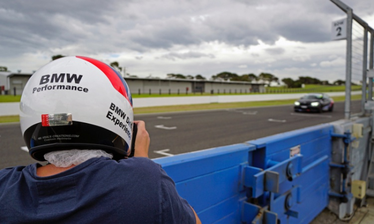 Waiting Game : BMW Driver Experience Advance 2