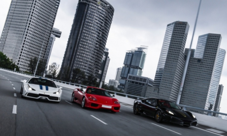 Horsing around with the Challenge Stradale, 430 Scuderia & 458 Speciale