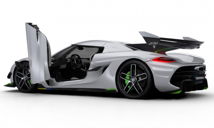This is the Koenigsegg Jesko, and it's the world's first 480km/h car