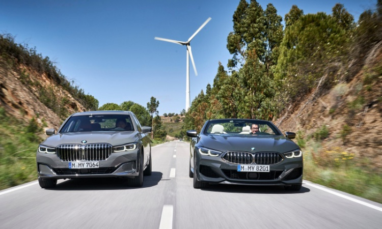 Sick 7 & 8 : BMW 750Li xDrive & M850i xDrive Convertible Driven [review]